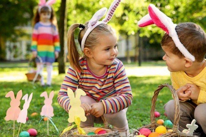 EASTER EGG HUNT IDEAS FOR A SMALL APARTMENT